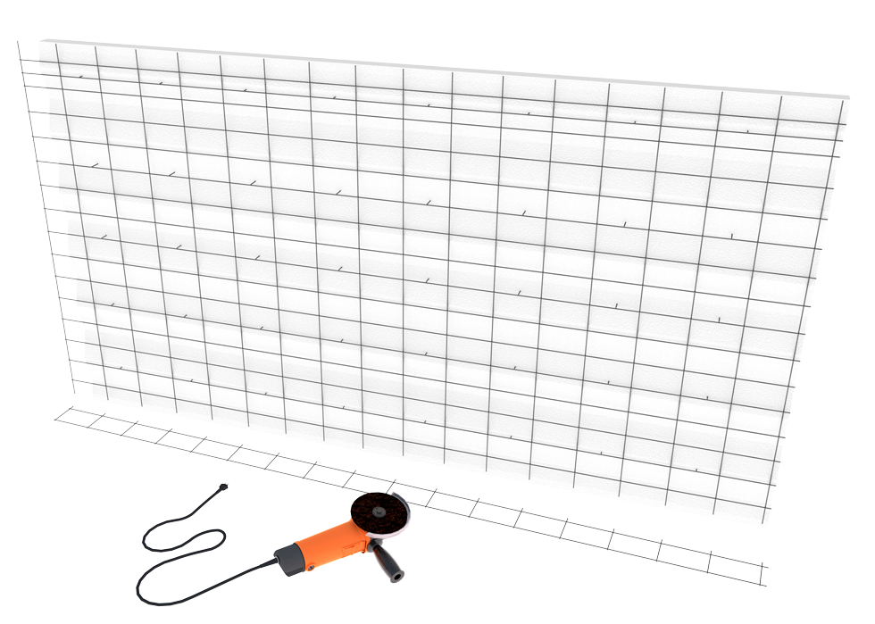 Instalación de paneles en fachada sate