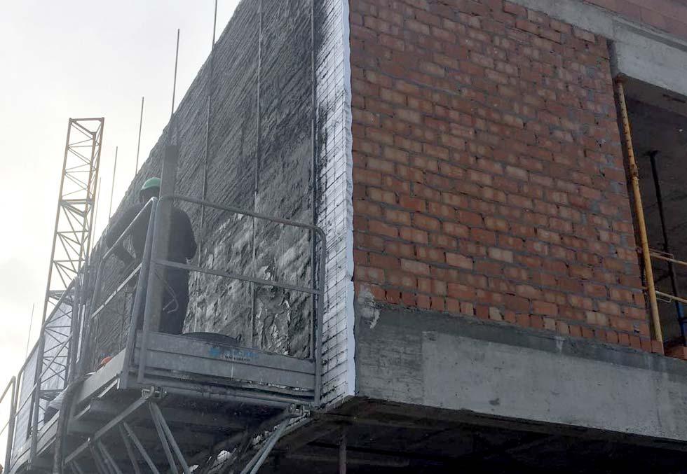 Hormigueado sate, aislamiento térmico de fachada sate