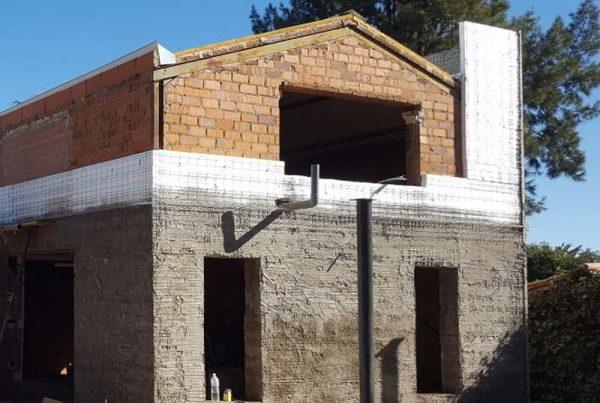Aislamiento térmico Sate en vivienda, Badajoz