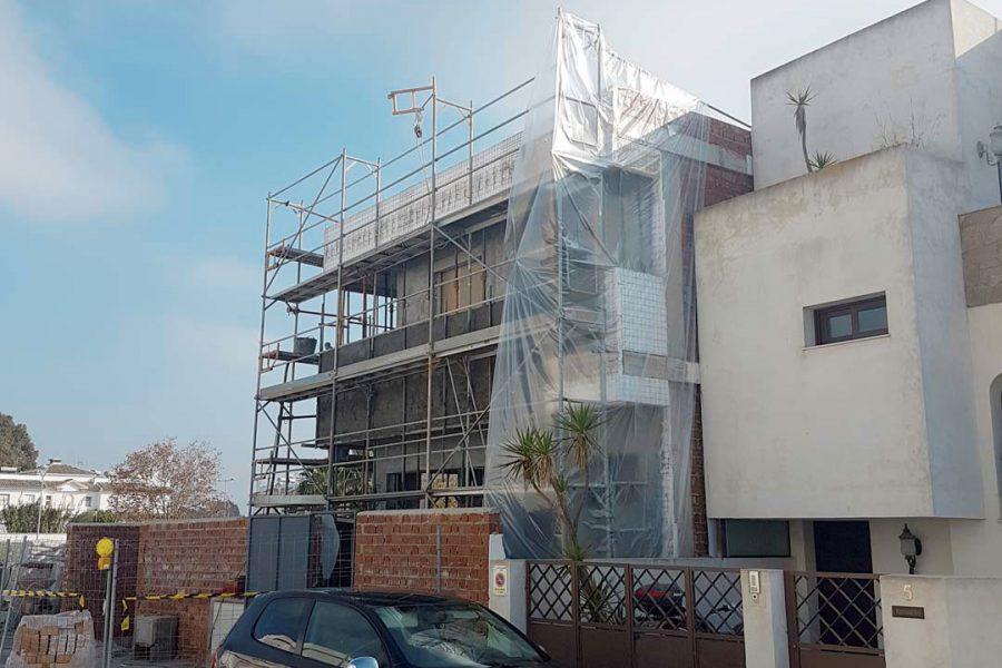Sistema de aislamiento por exterior, en Cádiz. SATE Cádiz.